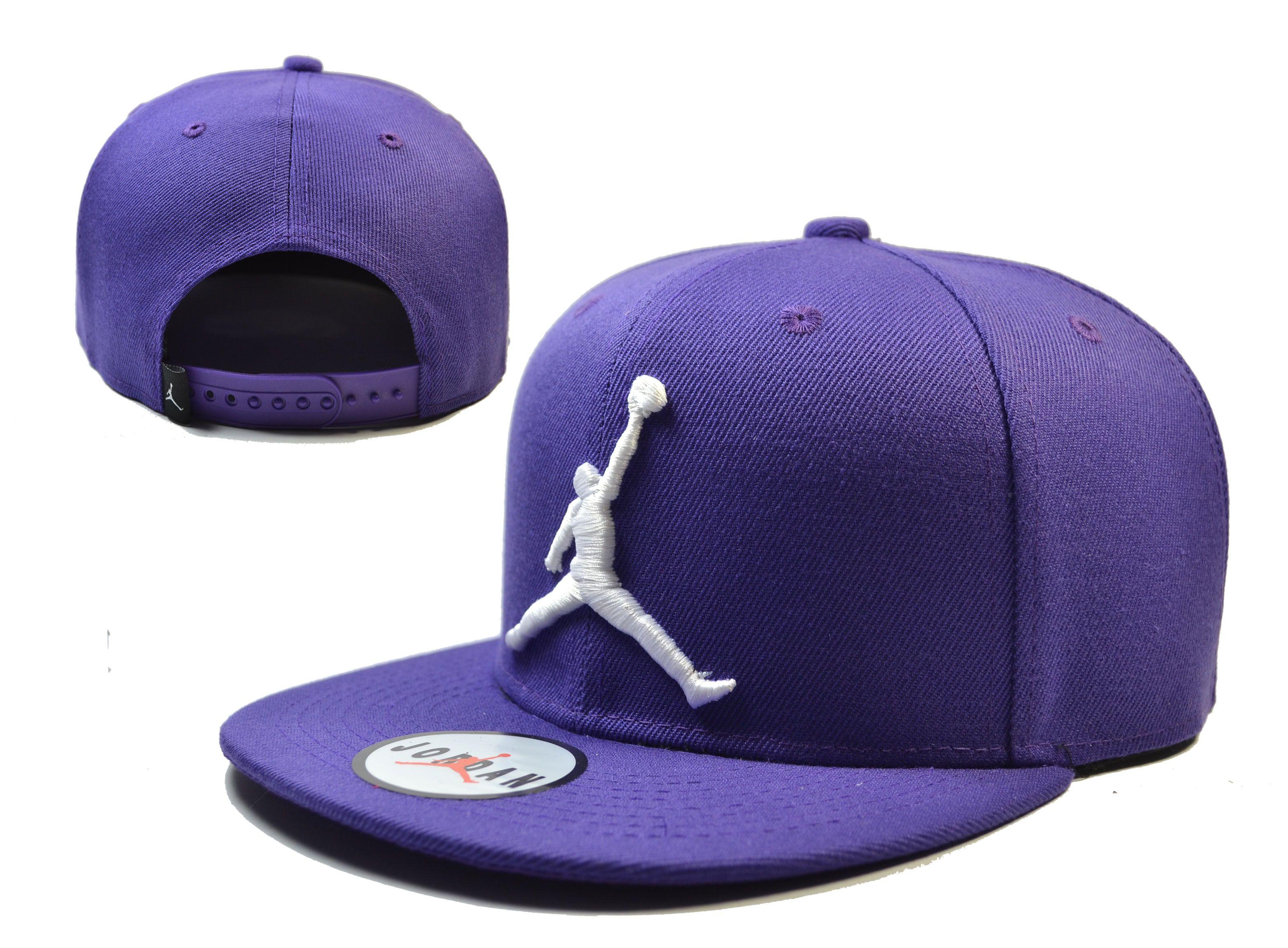 Jordan Snapback Hats Purple 159  f98e3e48b27