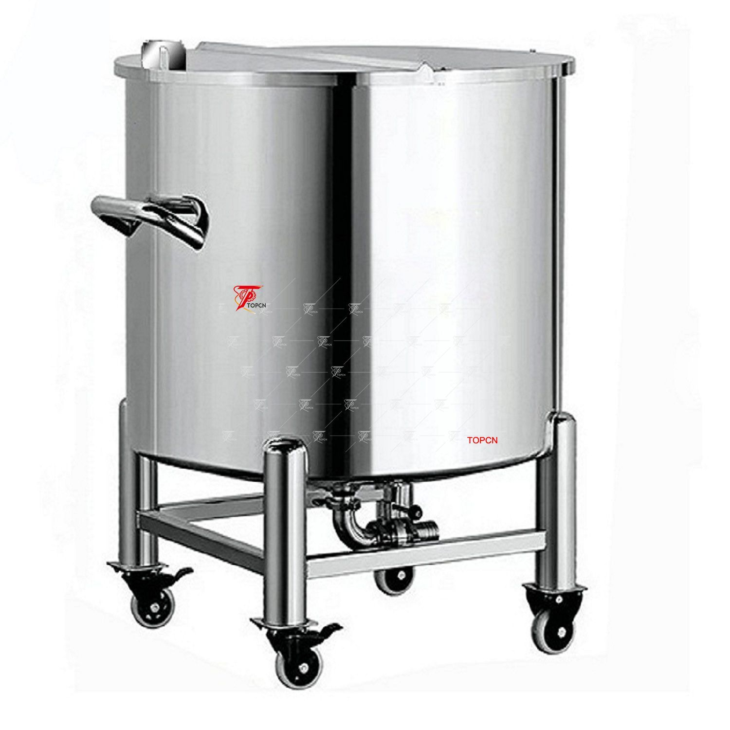 Single Layer Stainless Steel Container Top Open Water Storage Tankwidely Use In Foods Dairy Produ Storage Tank Stainless Steel Containers Stainless Steel Tanks