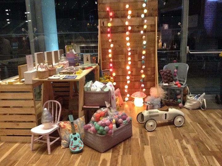 Collerette babies and kids concept store - Collerette's first stall at HOUSE AND LEISURE Night market last Thursday in Cape Town.