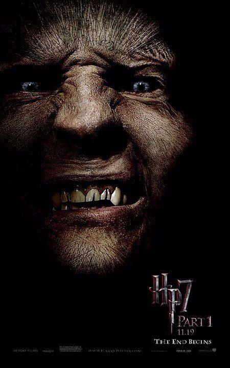 Loup Garou Harry Potter Films Fenrir Greyback Harry Potter Deathly Hallows Movie