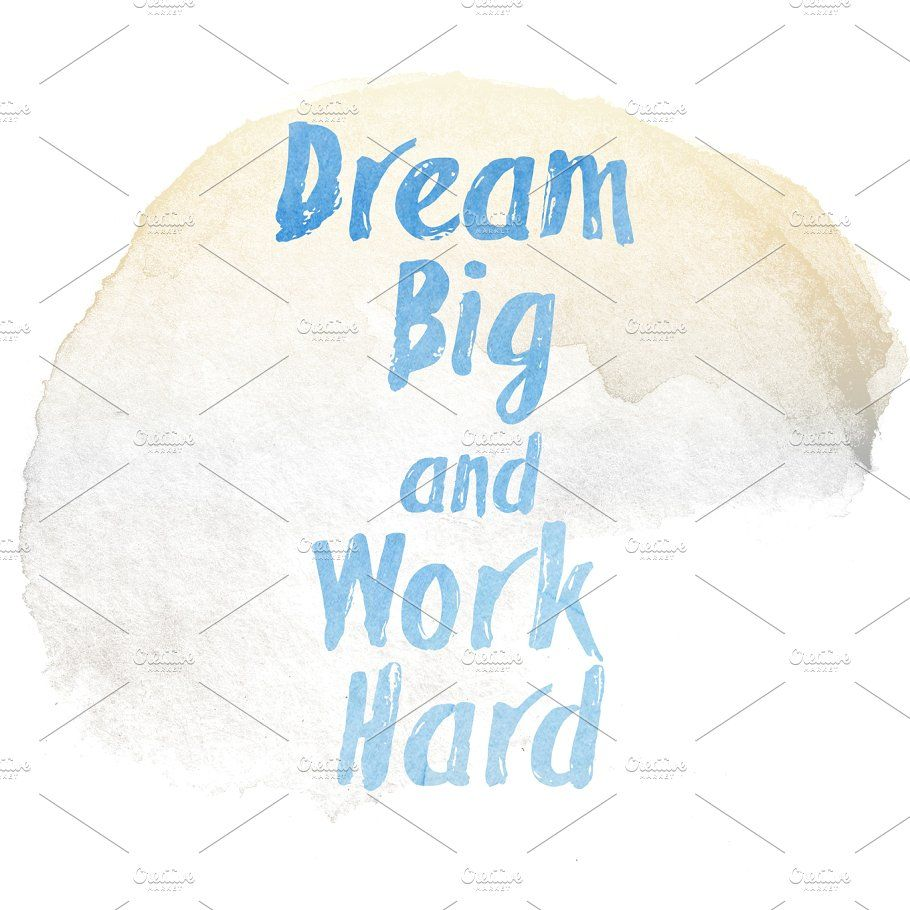 Dream Big And Work Hard Quote Hard Work Quotes Hard Quotes Dream Big