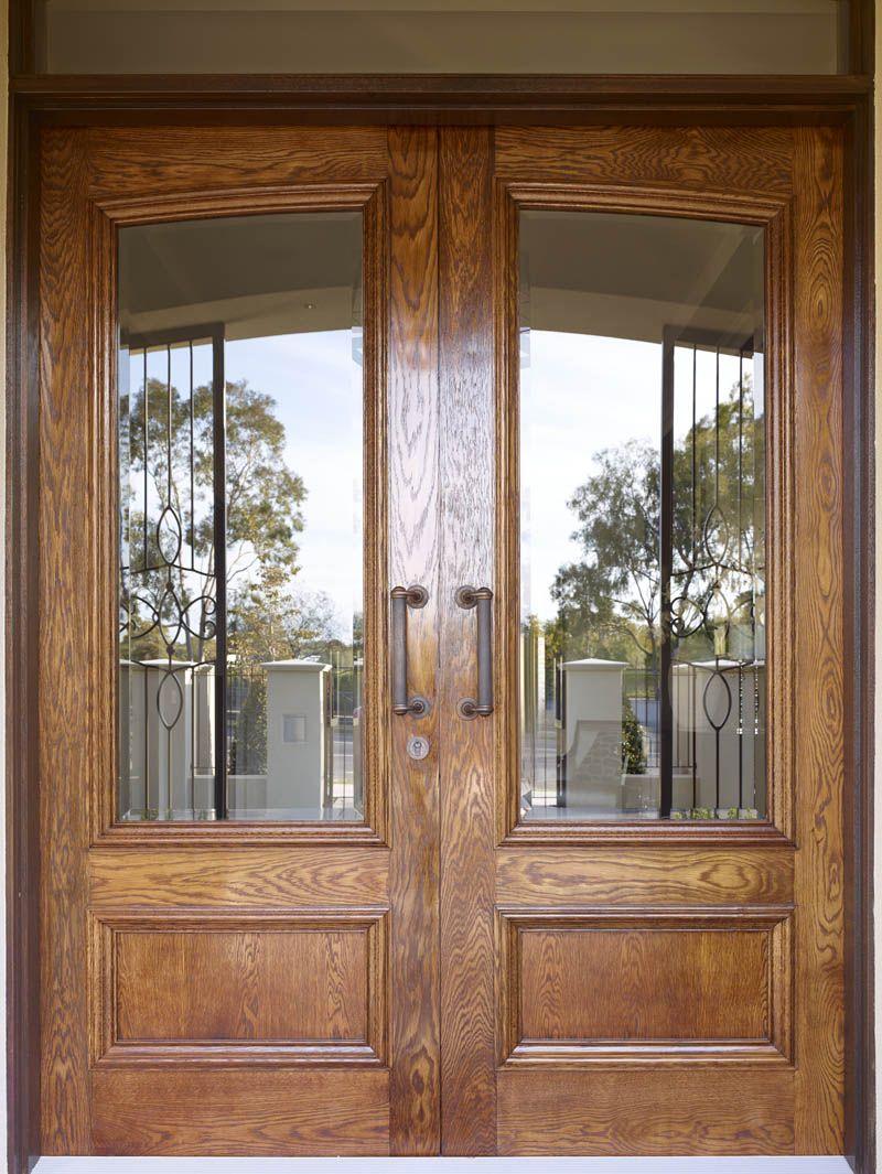 Front Door Of Metricon Bordeaux Display Home In Melbourne