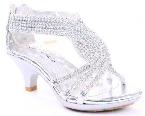 FOREVER Angel-37 Women Rhinestone Platform Pumps Sandals Prom Wedding Shoes.  Sandals PlatformShoes HeelsHigh ...