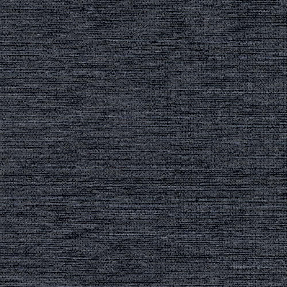 Kenneth James Peninsula Navy Sisal Grasscloth Wallpaper Sample 2732 80088sam The Home Depot In 2021 Grasscloth Wallpaper Grasscloth Blue Wallpapers