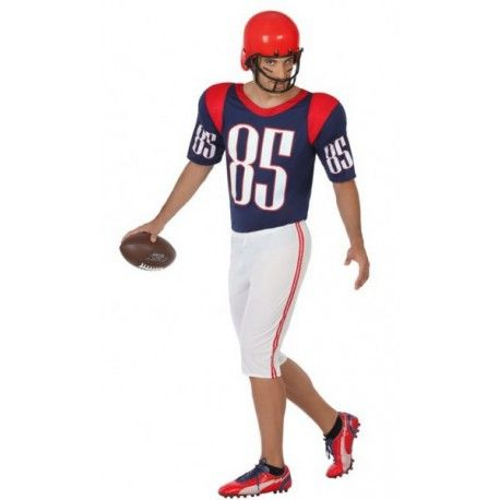 Disfraz De Jugador De Fútbol Americano Para Hombre Jugadores De Futbol Americano Disfraces Para Adultos Americanas Para Hombre