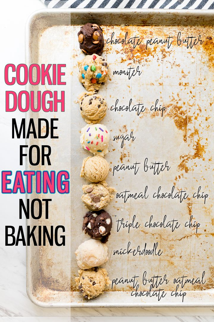 10 Edible Cookie Dough Recipes Made For Eating - Cooking With Karli