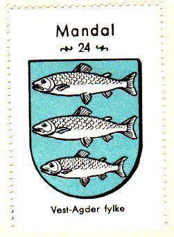 Mandal, Vest-Agder fylke
