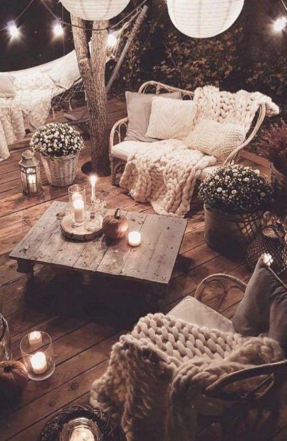 Salotti da giardino in stile hygge Lo stile hygge    comfort puro  e si pu   riprodurre la dolcezza di questo mood anche nel salotto da giardino  #arredooutdoor #interiordesign #homedecor
