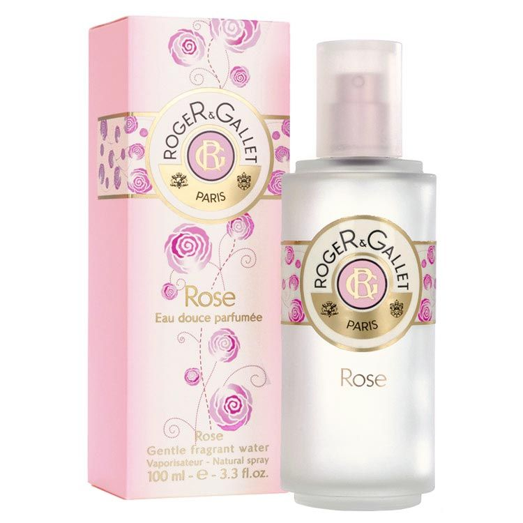 Rose - Roger & Gallet - I have a bit of a love affair with french skin/body care.