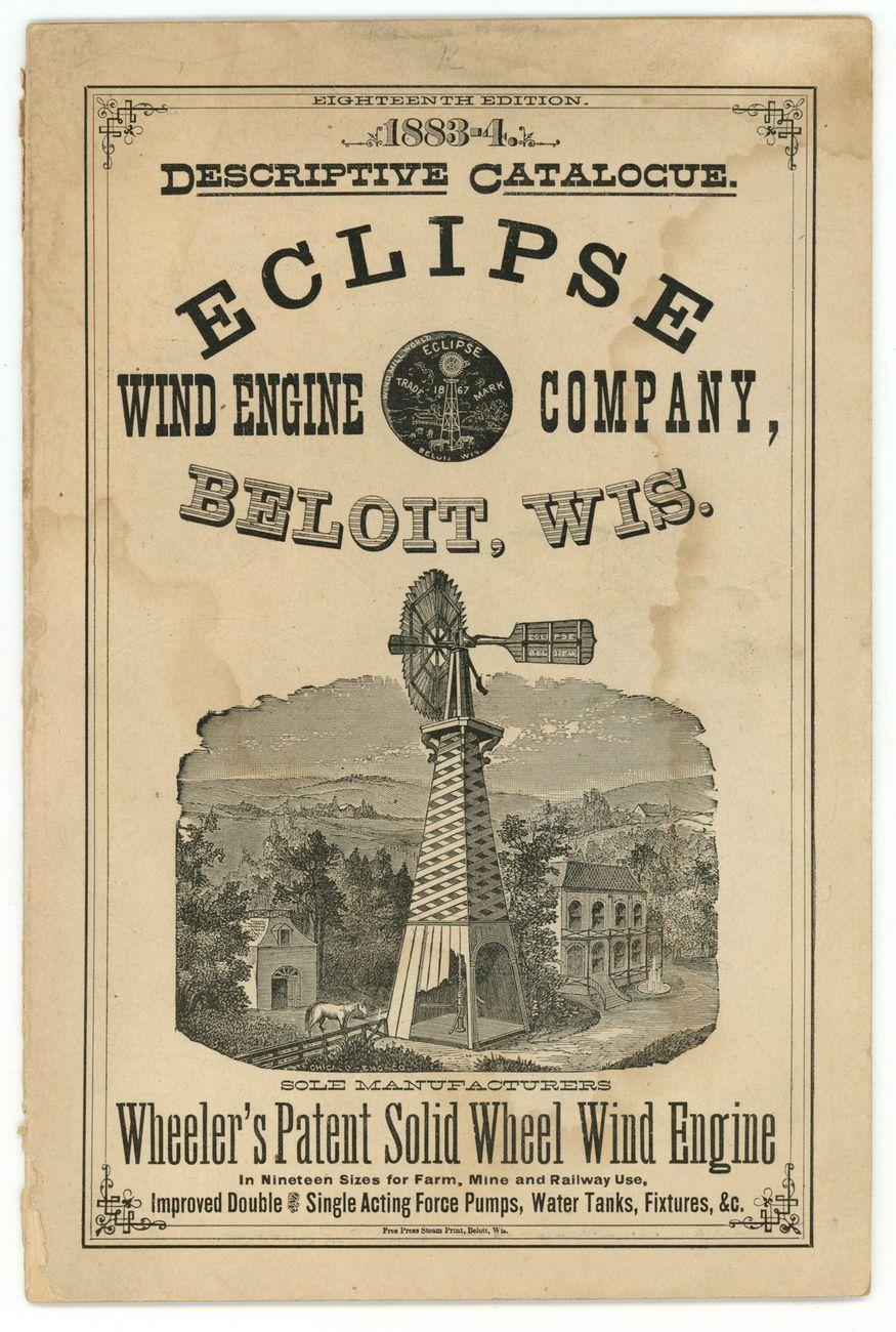 eclipse wind engine co 1883