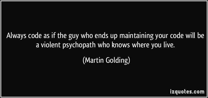 always code as if Google zoeken Quotes, S quote