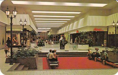 Woodland Mall C 1975 Vintage Mall Grand Rapids Michigan Grand Rapids