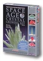 "Space Age Crystals: 6 Crystals ""Emerald & Ruby"""