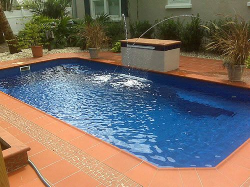 Quintal Com Piscina De Fibra Pesquisa Google Swimming Pools And