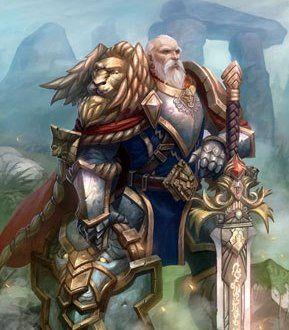 Anduin Lothar Warcraft Art World Of Warcraft World Of Warcraft Game