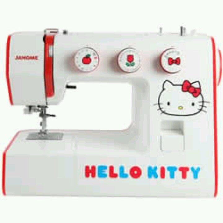 Hello kitty sewing machine by janome