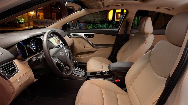 The Inside So Clean For A Compact Car Elantra Hyundai Elantra Hyundai