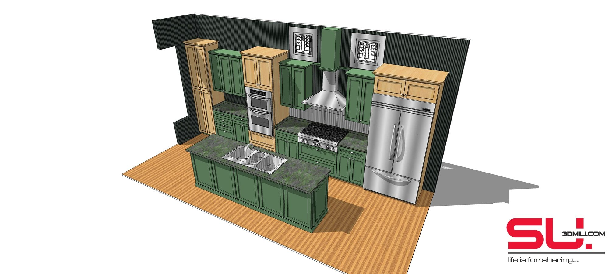 cool 39 kitchen sketchup models and textures free download download