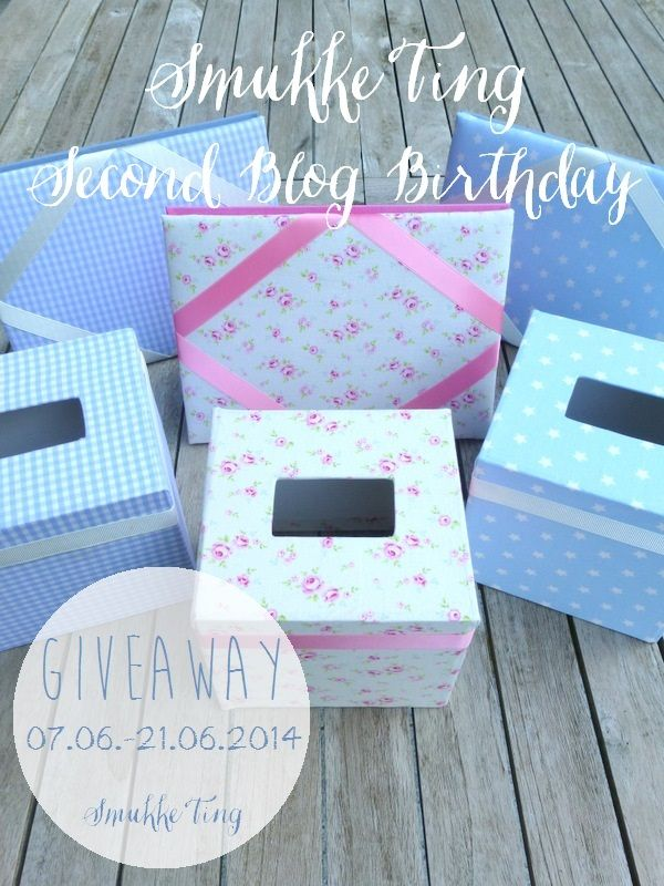 DIY: Selfmade Picture Frame And Tissue Boxes, Covered With Fabric   A  Giveaway To