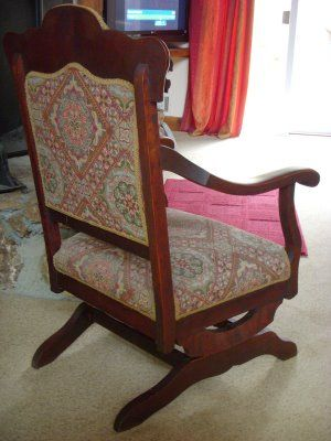 Amazing Platform Rocking Chairs From The Early 1900S Whats It Gmtry Best Dining Table And Chair Ideas Images Gmtryco