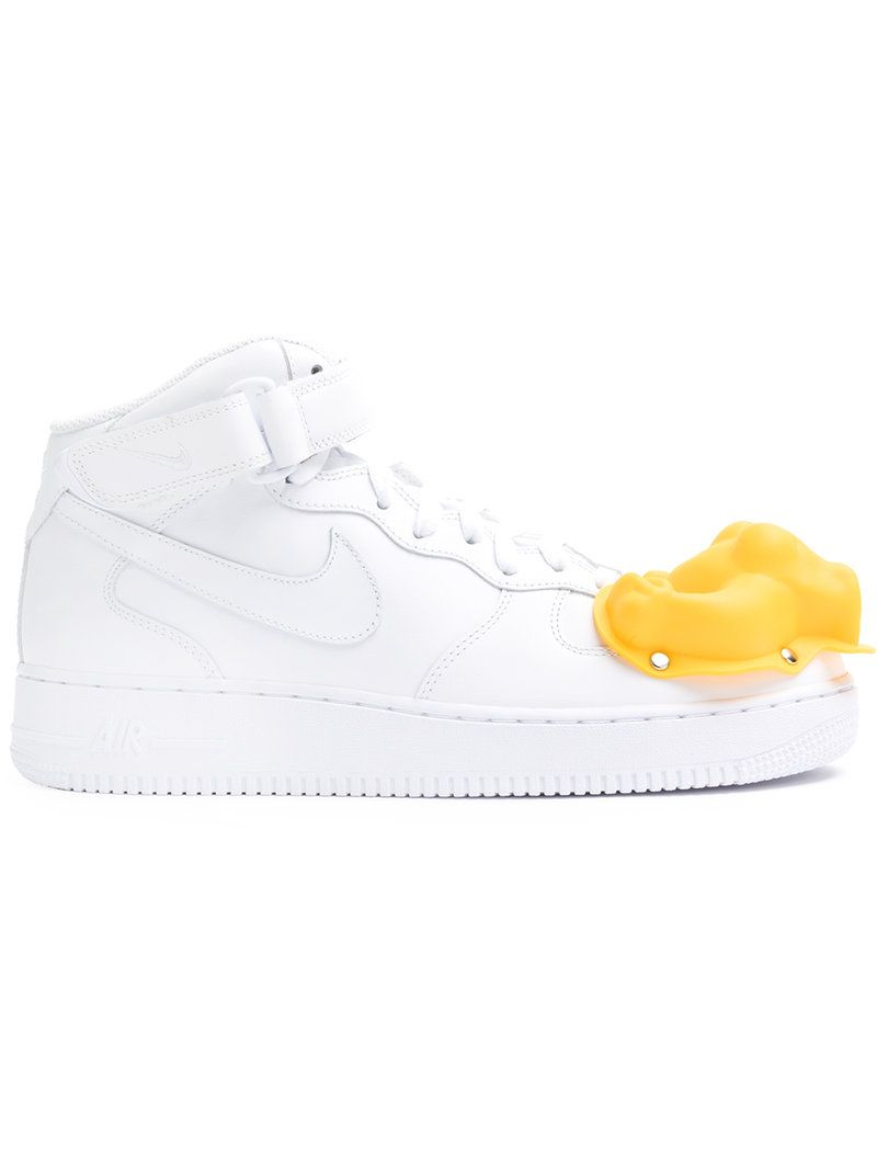 Nike Nike x Comme Des Garcons Homme Plus moulded dinosaur Air Force 1 Mid  sneakers
