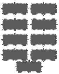 image about Printable Chalkboard Labels identified as Printable Chalkboard Labels. Ice Product Social Printable