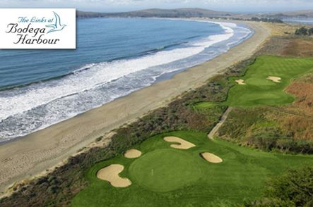 $49 for 18 Holes with Cart and Lunch at The Links at Bodega Harbour in Bodega Bay, #California! #Golf.