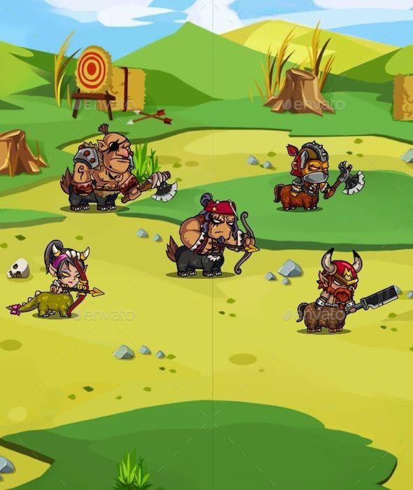 Centaur - 2D RPG Creature Pack (Sprites)   Game Assets   2d rpg