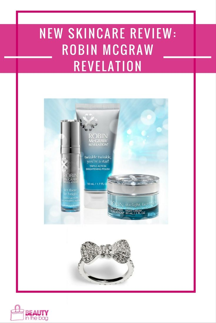 New Skincare Line Review Robin Mcgraw Revelation Skin Care Skincare Review Skin Tips