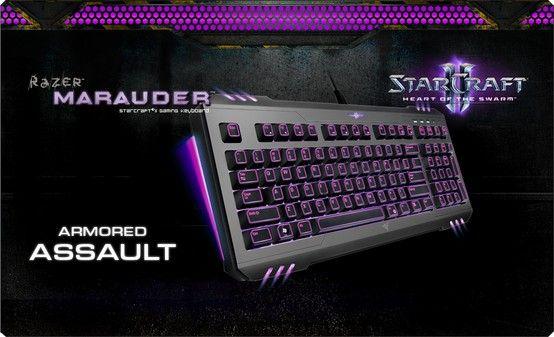 StarCraft® II Heart of the Swarm Razer Marauder Keyboard