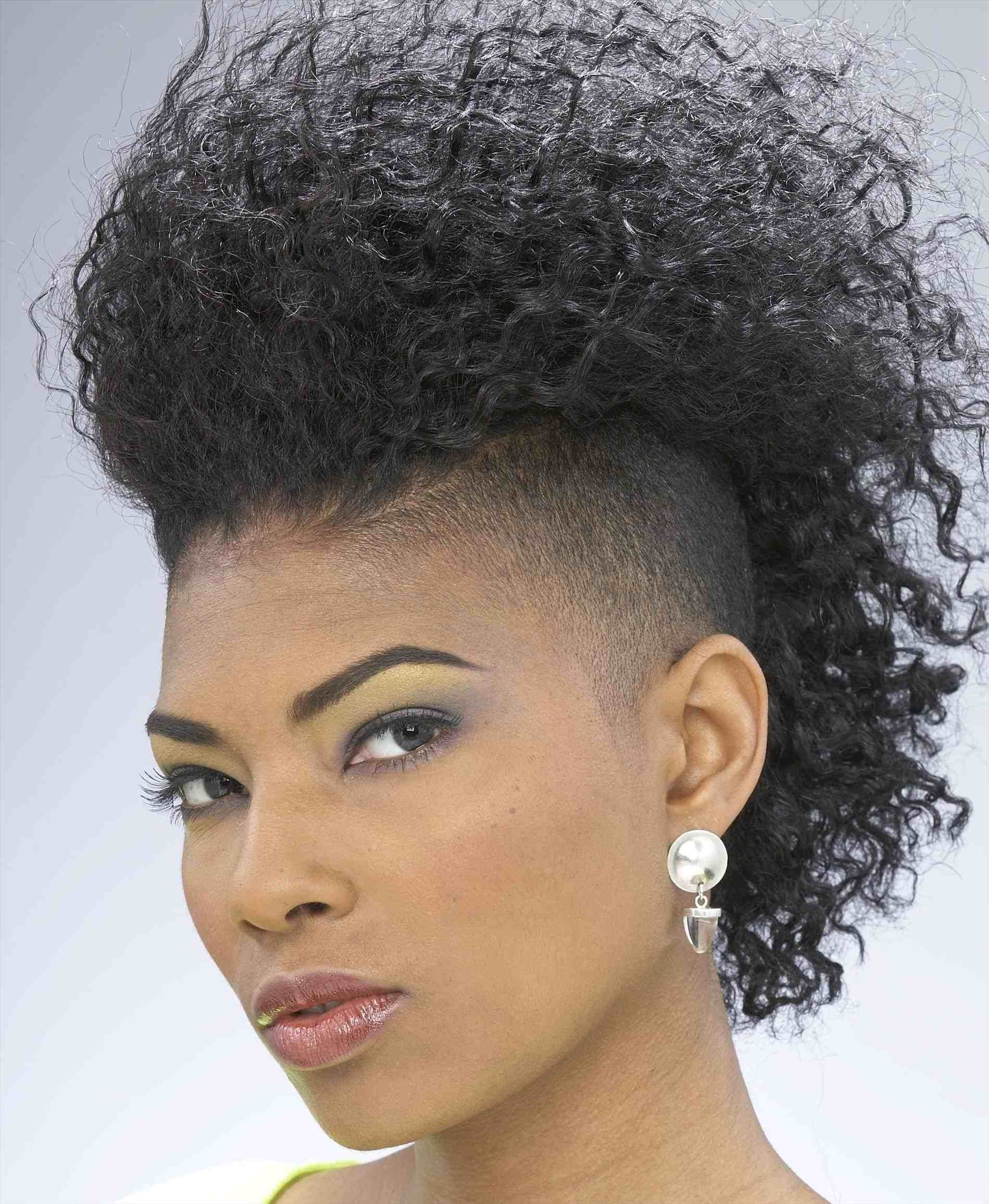 Curly Mohawk Hairstyles For Black Women curly mohawk hairstyles