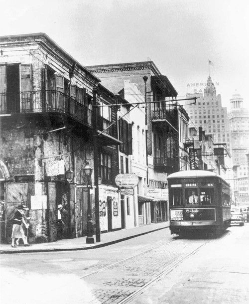 French Quarters Apartments: 1940 The Streetcar Named Desire Heading