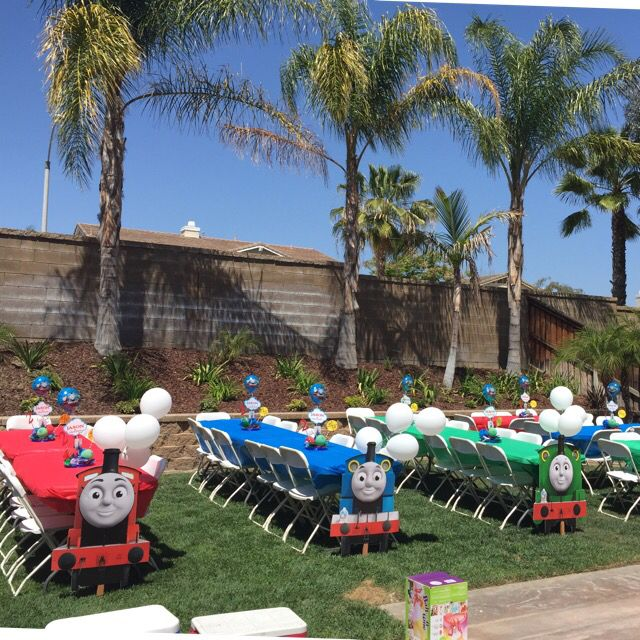 Thomas and Friends | Thomas birthday parties, Thomas the ...