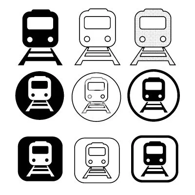 Free Images Vector Icon Photo For Personal Commercial Use Train Vector Transportation Logo Metro Icons