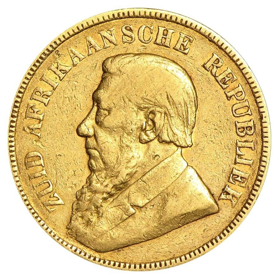 1892 1900 South Africa Gold 1 Pond Avg Cir Random Gold Bullion Coins Bullion Coins Gold Coins