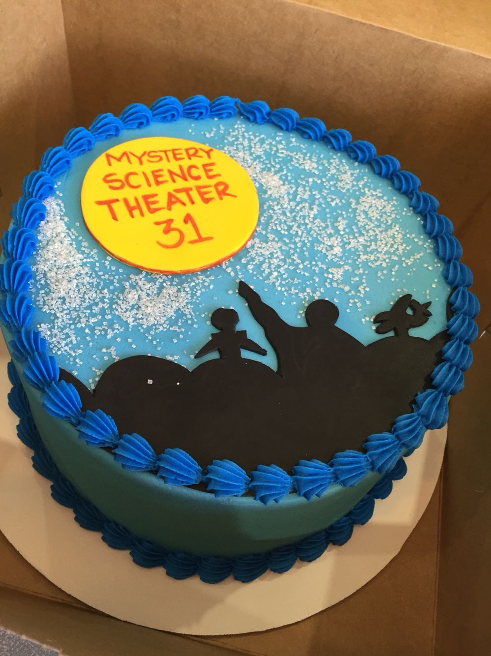 Mystery Science Theater 3000 Cake For Husband S 31st Birthday