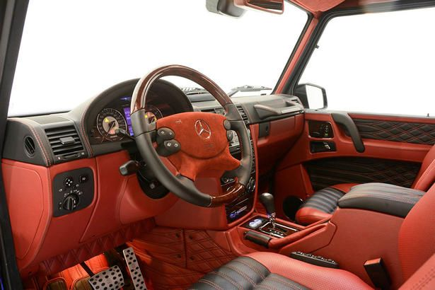 custom g wagon interior - G Wagon Interior