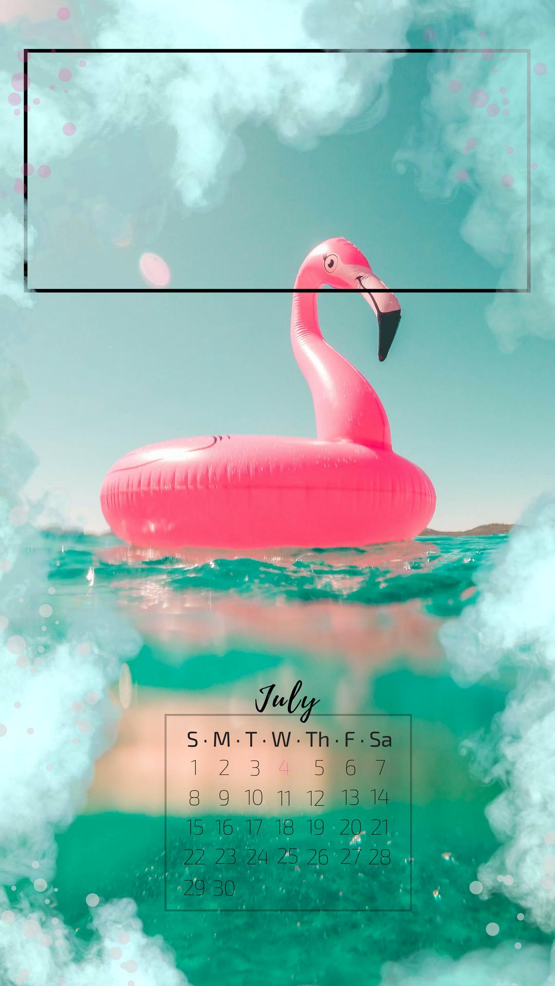 Free Iphone Wallpaper Pink Flamingo Diamond Diva