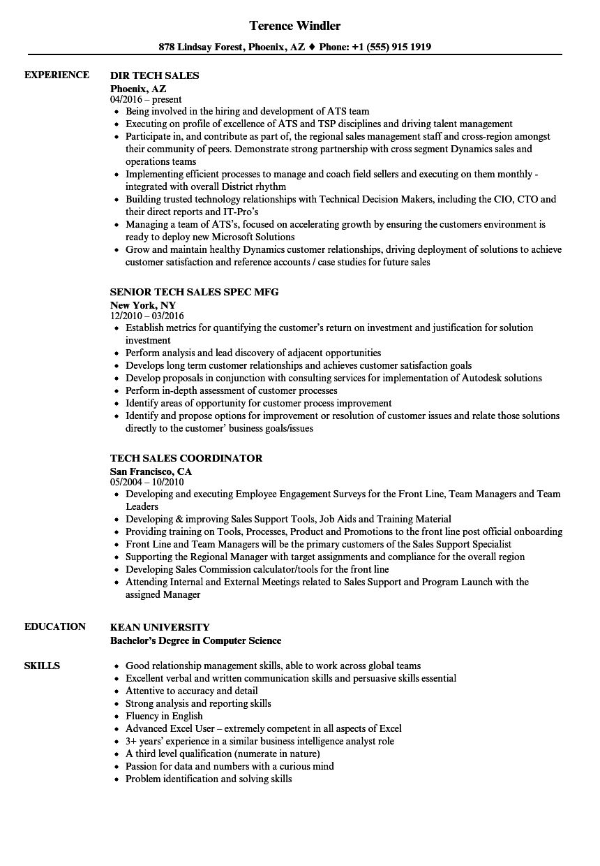 Good Resume Skills For Sales