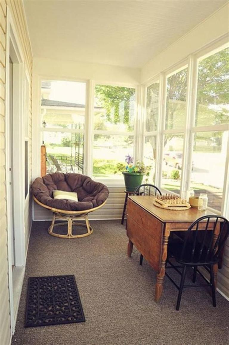 Best 45 Cheap Sunroom Furniture Ideas 44 Homenthusiastic