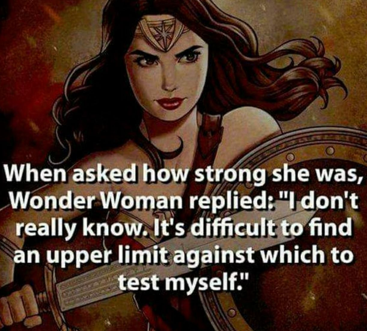 How strong is wonder woman compared to superman-8367