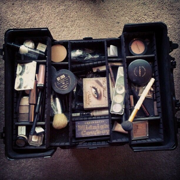 My baby/training case #Makeup #Sephora #MAC #MakeupForever ...
