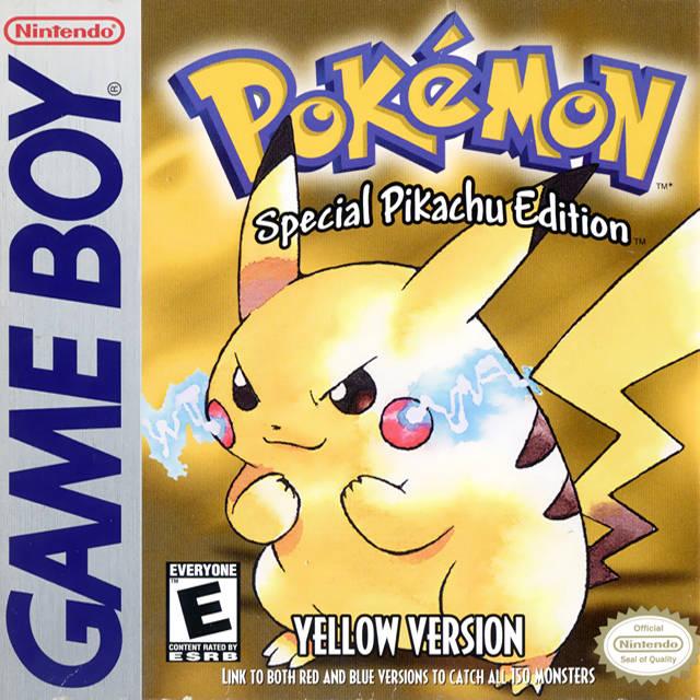 Pokemon Amarillo Juegos De Pokemon Juegos De Consola Pokemon