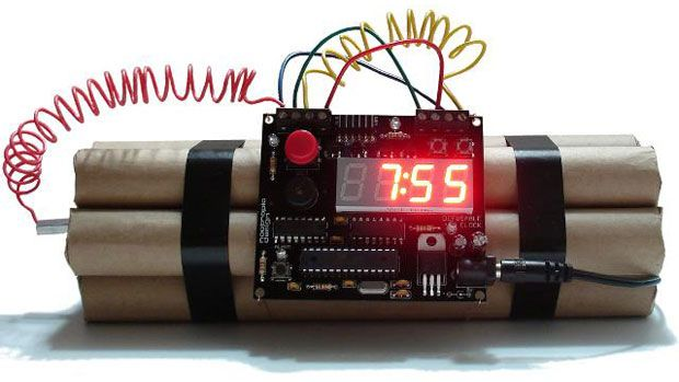 Defusable Alarm Clock. What wire will make it stop beeping? (changes ...