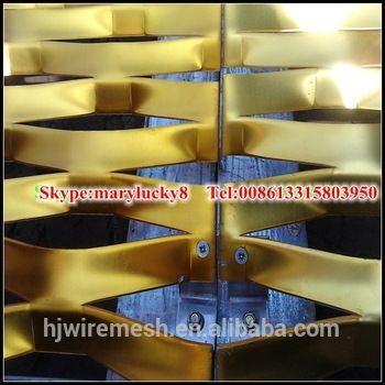 Exterior Wall Cladding Decorative Aluminum Expanded Metal Panels ...