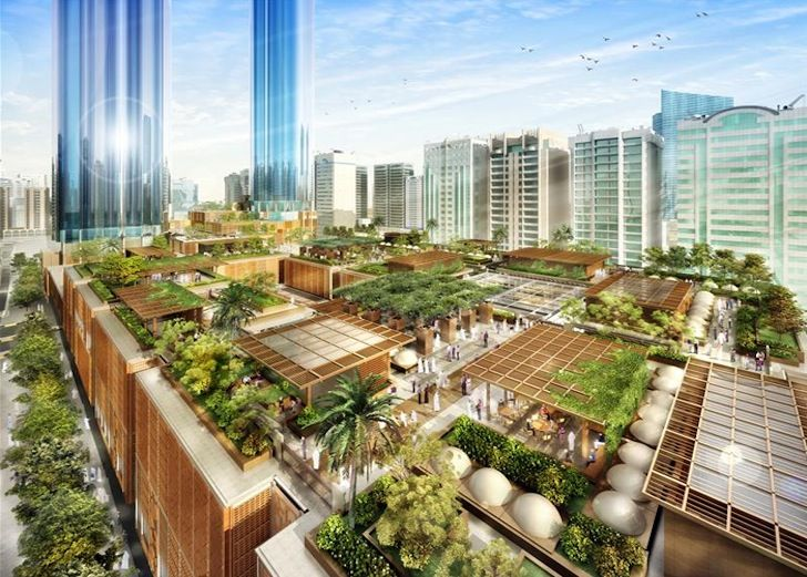 7 Gorgeous Green Buildings In The Middle East Landscape Architecture Design Green Building Green Architecture