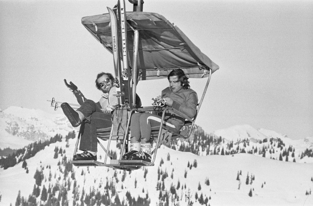 Jack Nicholson and Roman Polinski