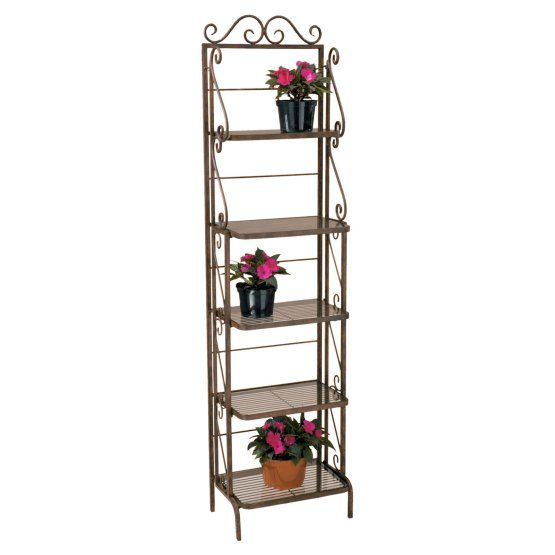 Deer Park Ironworks Skinny Bakers Rack Plant Stand With Images