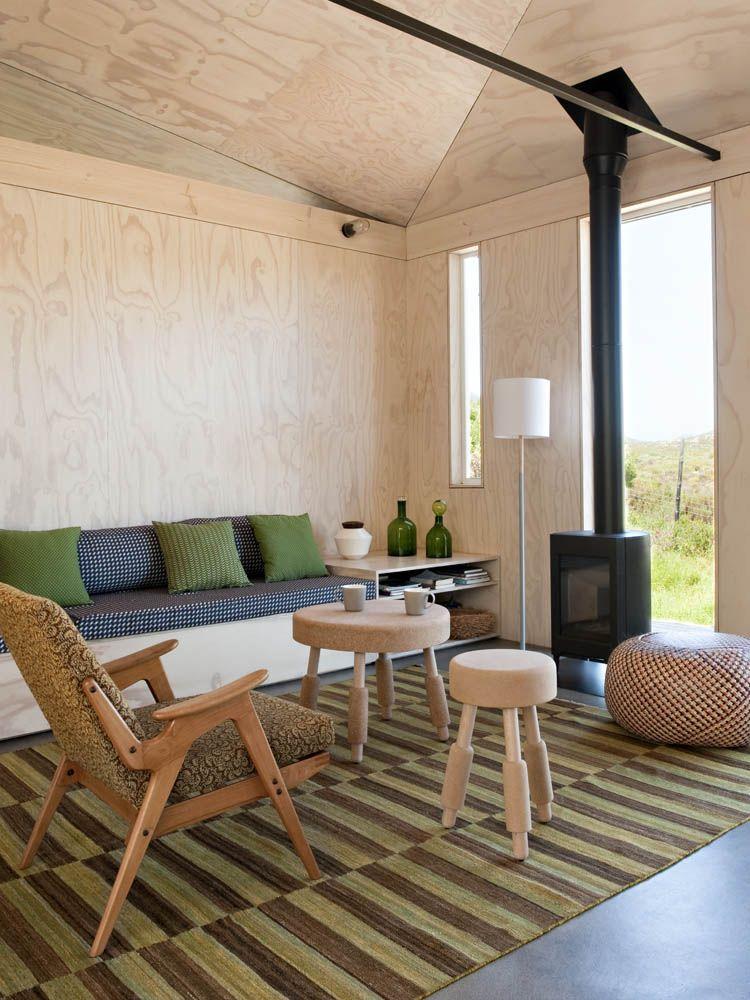 Beautiful beach house between Cape Town and Cape Point by Beatty - holzverkleidung innen modern