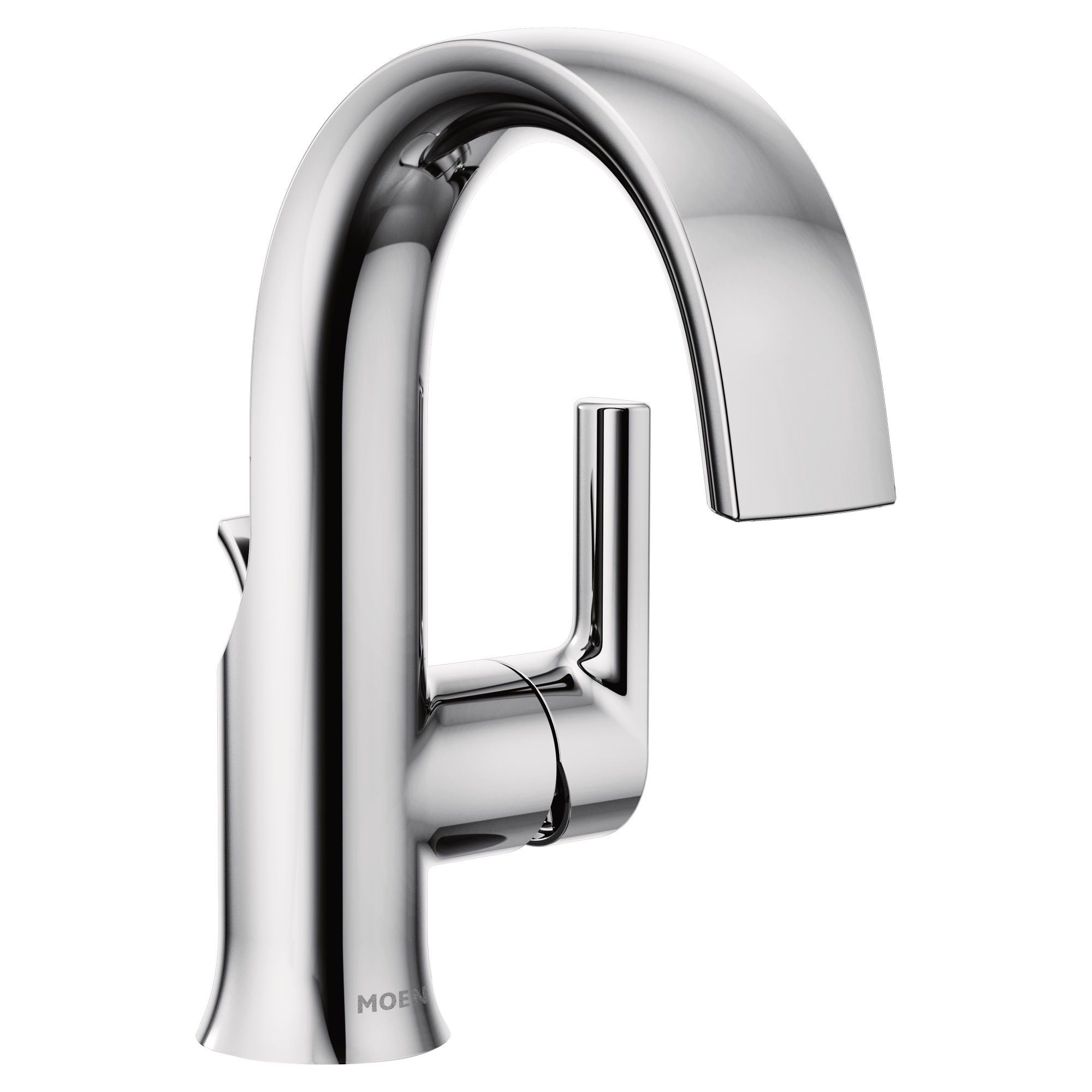 Moen S6910 Doux 1 2 Gpm Single Hole Bathroom Faucet With Pop Up